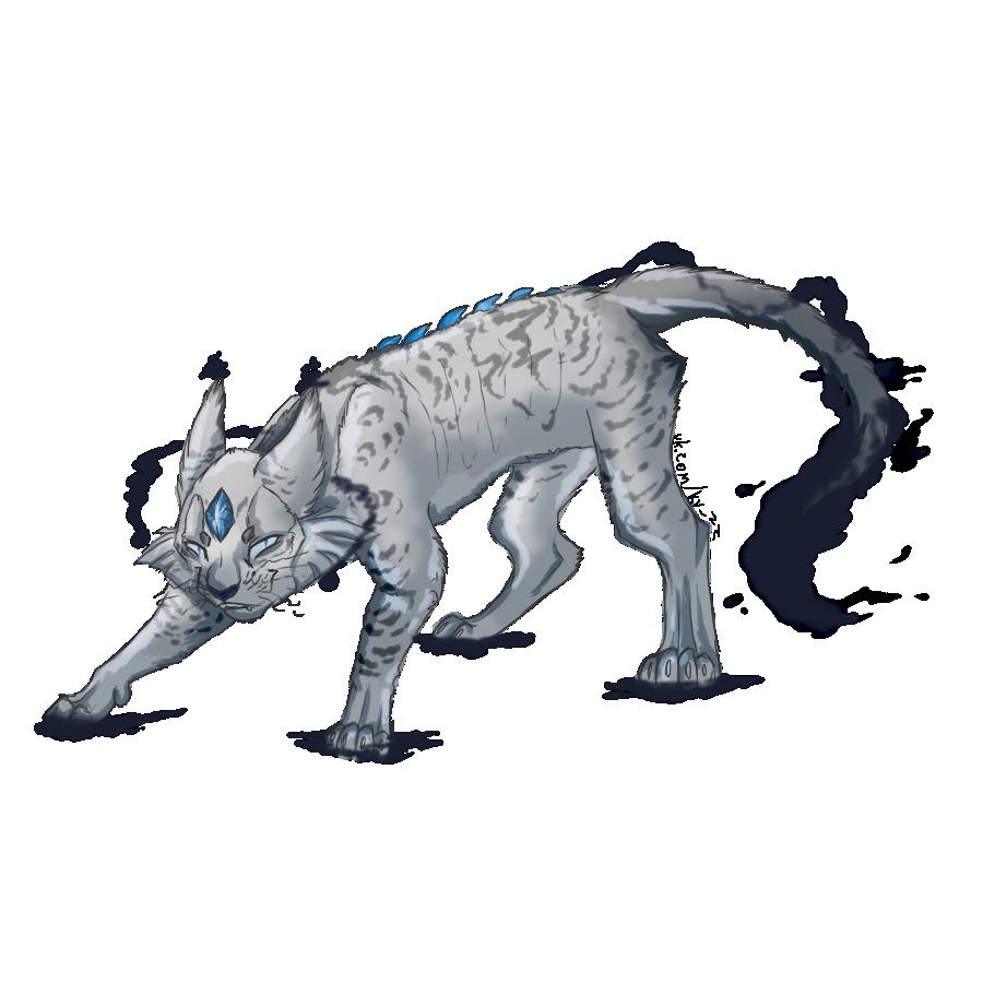 Лунница коты воители